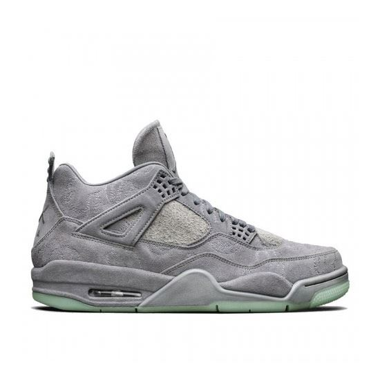 sports shoes 8c203 6dd68 Air Jordan 4 Retro x KAWS Cool Grey White